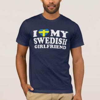 Jag älskar min svenska flickvän tröjor