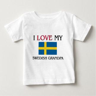 Jag älskar min svenska morfar tshirts
