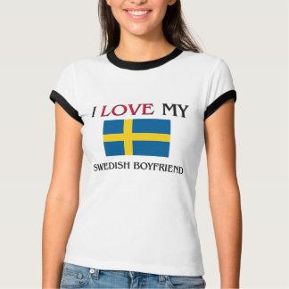 Jag älskar min svenska pojkvän t-shirt