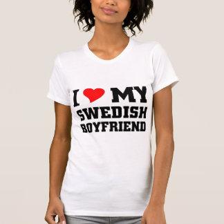 Jag älskar min svenska pojkvän tröjor