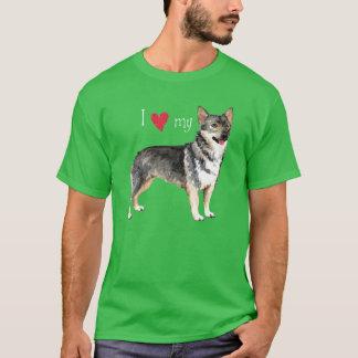 Jag älskar min svenska Vallhund T Shirts