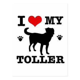 Jag älskar min Toller Vykort