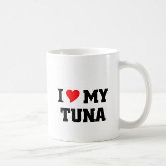 Jag älskar min tonfisk kaffemugg