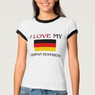 Jag älskar min tyska pojkvän t-shirt