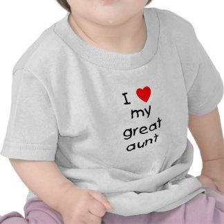Jag älskar min underbara moster t-shirts