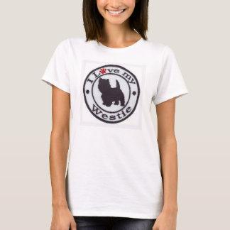 Jag älskar min Westie T-tröja T-shirts