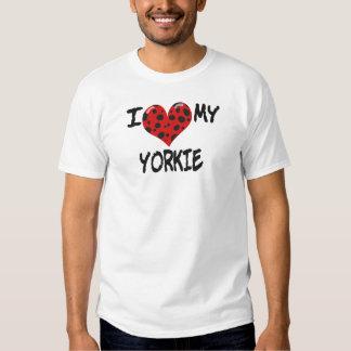 Jag älskar min Yorkie T-shirt