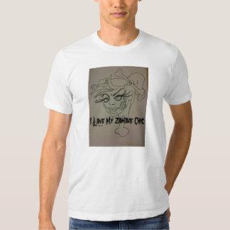 Jag älskar min ZombiechicT-tröja T Shirts
