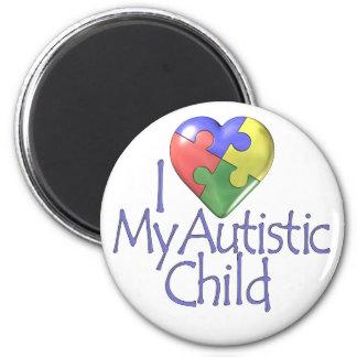 Jag älskar mitt Autistic barn Magneter
