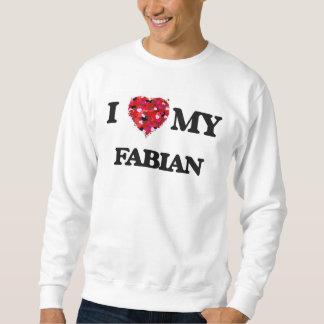 Jag älskar mitt Fabian Långärmad Tröja