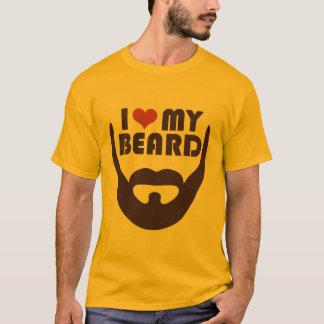 Jag älskar mitt skägg t shirts