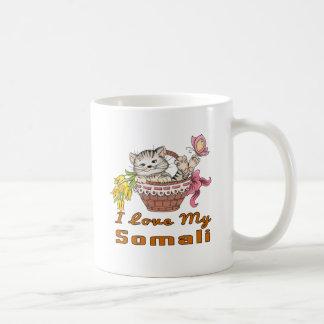 Jag älskar mitt somaliskt vit mugg