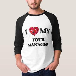 Jag älskar mitt turnerar chefen tee shirts