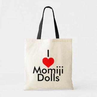jag älskar Momiji dockor Tygkasse