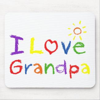 Jag älskar morfar musmatta