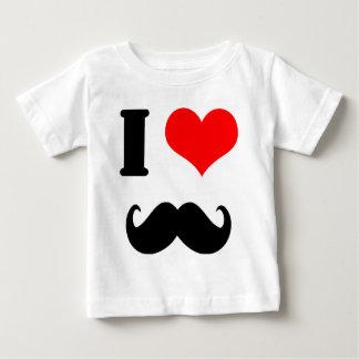 Jag älskar moustachen tee shirt
