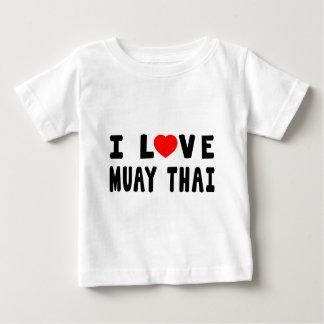 Jag älskar Muay thailändska kampsportar Tee
