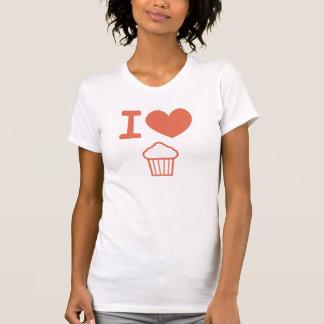 Jag älskar muffins t-shirt