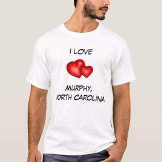 Jag älskar Murphy, North Carolina T Shirt