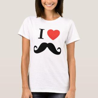 Jag älskar mustasch tröjor