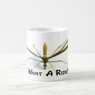 Jag älskar myggor kaffemugg