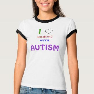 Jag älskar NÅGON MED AUTISM T Shirts