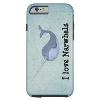 Jag älskar Narwhals Tough iPhone 6 Case