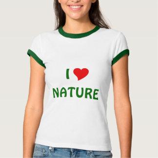 Jag älskar naturen tröjor