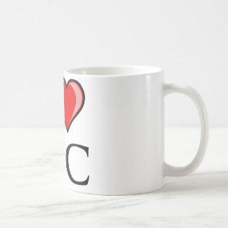 Jag älskar NC - North Carolina Kaffemugg