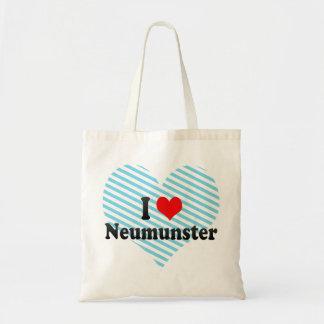 Jag älskar Neumunster, Tyskland Budget Tygkasse