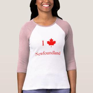 Jag älskar Newfoundland Tshirts