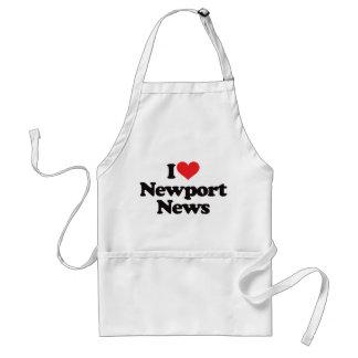 Jag älskar Newport nyheterna Förkläde