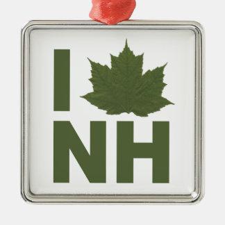 Jag älskar NH-prydnaden Julgransprydnad Metall