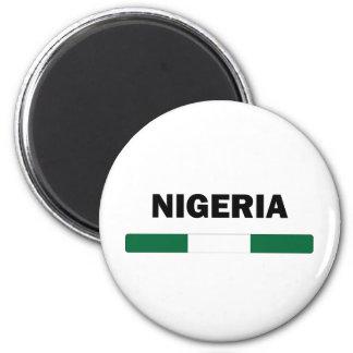 Jag älskar Nigeria Magnet