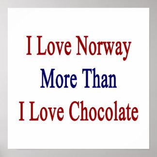 Jag älskar norge mer, än jag älskar choklad