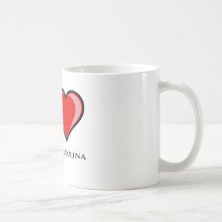 Jag älskar North Carolina Kaffemugg