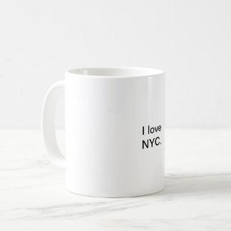 Jag älskar NYC-muggen Kaffemugg