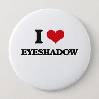 Jag älskar ögonskugga stor knapp rund 10.2 cm
