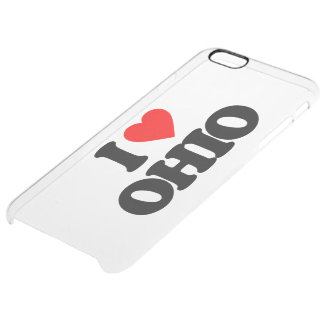 JAG ÄLSKAR OHIO CLEAR iPhone 6 PLUS SKAL