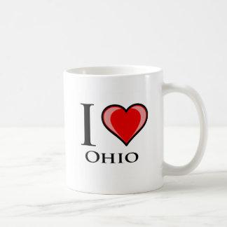 Jag älskar Ohio Kaffemugg