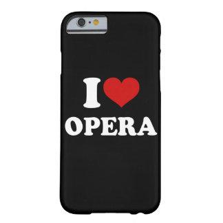 Jag älskar operaiPhonen 6/6s Barely There iPhone 6 Skal