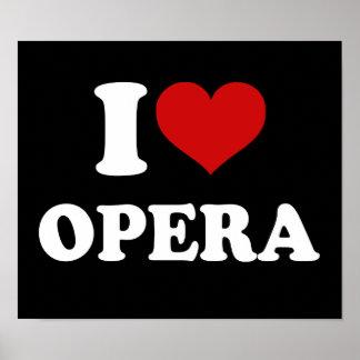 Jag älskar operan affisch