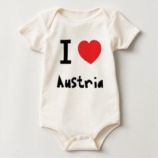 Jag älskar Österrike Sparkdräkt
