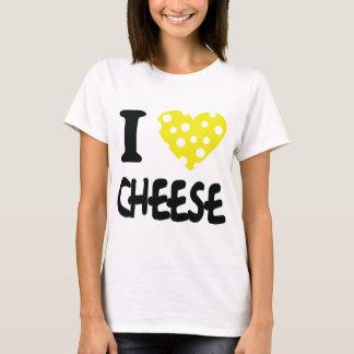 Jag älskar ostsymbolen t shirts