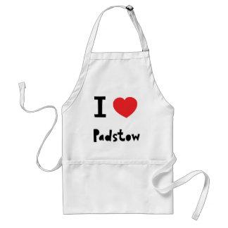 Jag älskar Padstow Förkläde