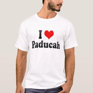Jag älskar Paducah, United States T-shirt