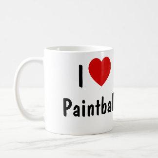 Jag älskar Paintball Kaffemugg