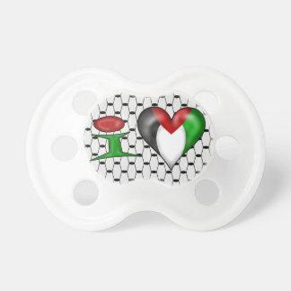 Jag älskar Palestina Napp