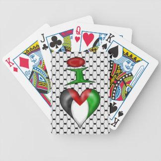 Jag älskar Palestina Spelkort