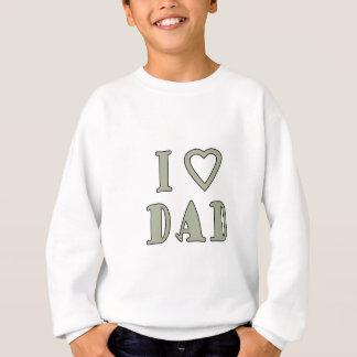Jag älskar pappan t shirts